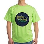 USS GUDGEON Green T-Shirt