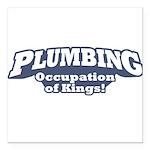 Plumbing / Kings Square Car Magnet 3