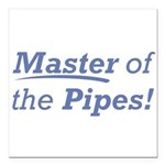 Pipes / Master Square Car Magnet 3