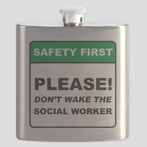 Social Worker / Wake Flask