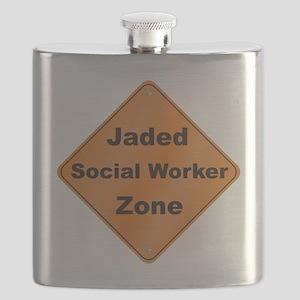 Jaded Social Worker Flask