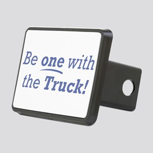 One with the Truck Rectangular Hitch Cover