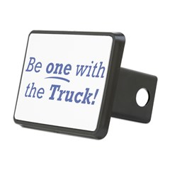 One with the Truck Hitch Cover