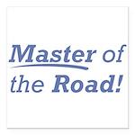 Road / Master Square Car Magnet 3