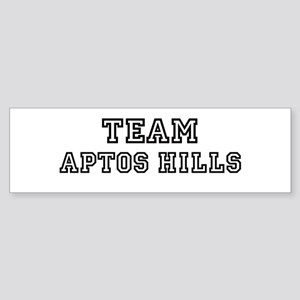 Team Aptos Hills Bumper Sticker