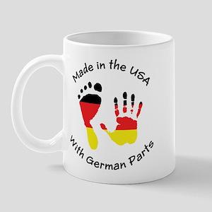 Made With German Parts Mug