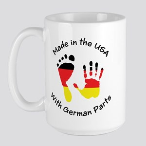 Made With German Parts Large Mug