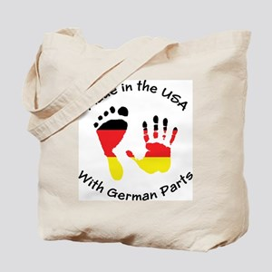 Made With German Parts Tote Bag