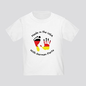 Made With German Parts Toddler T-Shirt