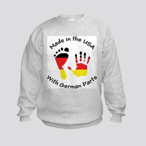 Made With German Parts Kids Sweatshirt