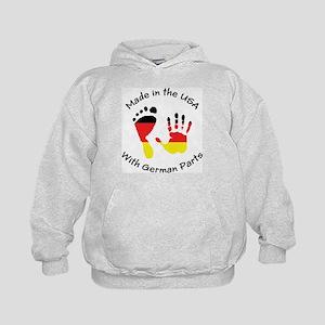 Made With German Parts Kids Hoodie