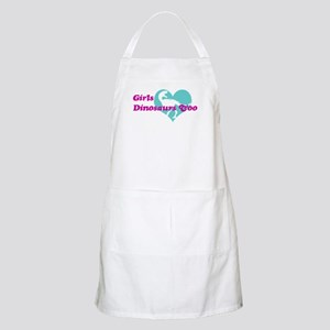 Girls (Heart) Dinosaurs Too Apron