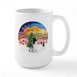 XM2-English Springer (BW) Large Mug