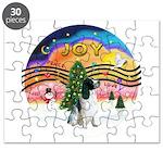 XM2-English Springer (BW) Puzzle
