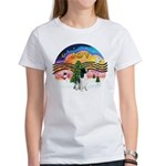XM2-English Springer (BW) Women's T-Shirt