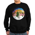 XMusic2-Wire Fox T4 Sweatshirt (dark)