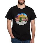 XMusic2-Wire Fox T4 Dark T-Shirt