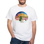 XMusic2-Wire Fox T4 White T-Shirt