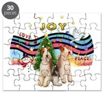 XMusic1 - Two Wire Fox Terriers Puzzle