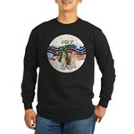 XMusic1 - Two Wire Fox Terriers Long Sleeve Da