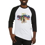 XMusic1 - Two Wire Fox Terriers Baseball Jerse