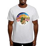 XMusic2-SharPei (J) Light T-Shirt