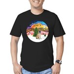 XMusic2-Chinese Shar Pei (#5) Men's Fitted T-Shirt