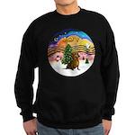XMusic2-Dachshund 1 Sweatshirt (dark)
