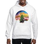XMusic2-Dachshund 4 (BT) Hooded Sweatshirt