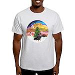 XMusic2-Dachshund 4 (BT) Light T-Shirt