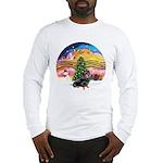 XMusic2-Dachshund 4 (BT) Long Sleeve T-Shirt