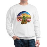 XMusic2-Two brown Dachshunds Sweatshirt