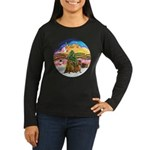 XMusic2-Two brown Dachshunds Women's Long Sleeve D