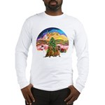 XMusic2-Two brown Dachshunds Long Sleeve T-Shirt