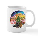 XMusic2-Two Dachshunds Mug