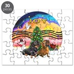 XMusic2-Two Dachshunds Puzzle