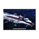 USS GEORGE WASHINGTON Mini Poster Print