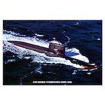 USS GEORGE WASHINGTON Large Poster