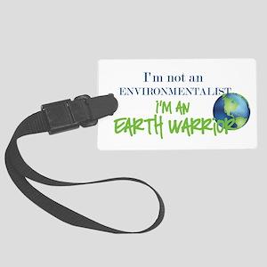 Earth Warrior Large Luggage Tag