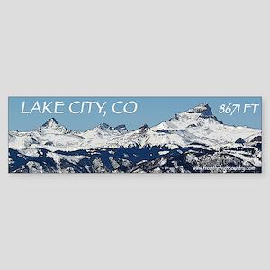 Lake City, Colorado Sticker (Bumper)