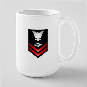 Navy PO2 Information Technician Large Mug