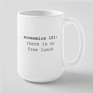 Economics 101 Large Mug