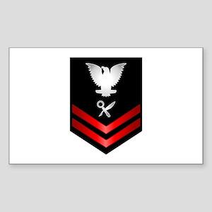 Navy PO2 Intelligence Specialist Sticker (Rectangl