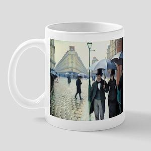 Caillebotte Paris Street Rainy Day Mug