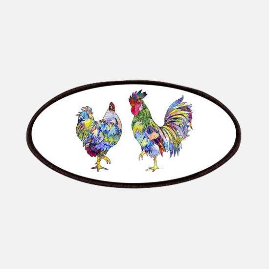 Rooster & Hen Patches