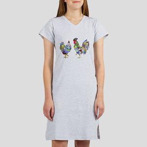 Rooster & Hen Women's Nightshirt