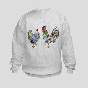 Rooster & Hen Kids Sweatshirt