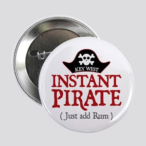 """Key West Pirate - 2.25"""" Button"""
