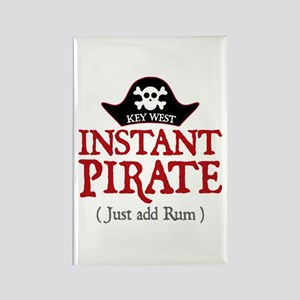 Key West Pirate - Rectangle Magnet