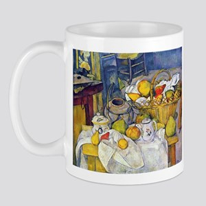 Paul Cezanne Fruit Basket Still Life Mug